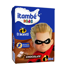 Bebida Láctea Itambé Kids Chocolate 200ml