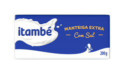 Manteiga com sal tablete 200g